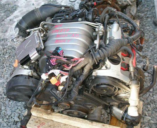 Двигатели бу на ауди