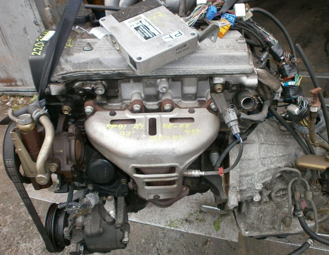 57Тойота двигатель 4 е