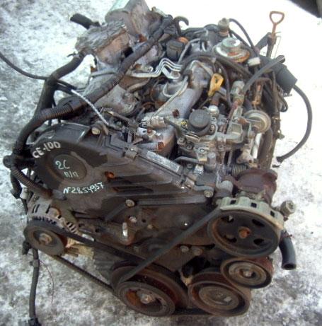 Двигатель Toyota - 2C (CE100)