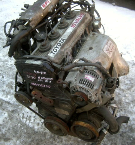 Каталог двигателей toyota