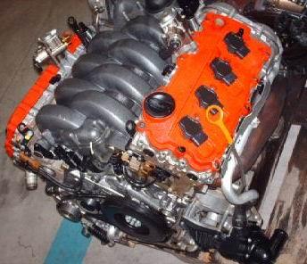 Каталог двигателей audi