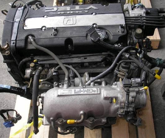 Двигатель H22A на ХОНДУ Прелюд