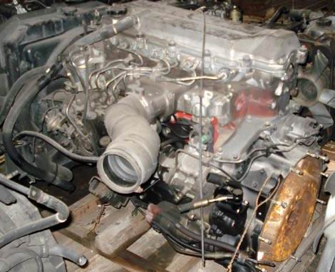 Двигатель J05C